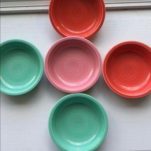 Fiestaware cereal bowls